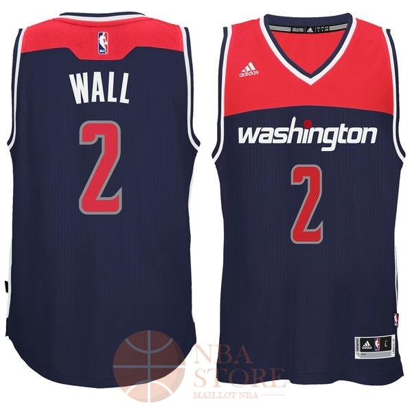 Classic Maillot NBA Washington Wizards NO.2 John Wall Noir