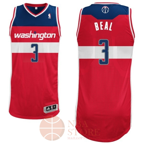 Classic Maillot NBA Washington Wizards NO.3 Bradley Beall Rouge