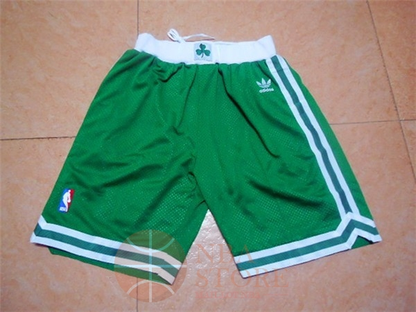 Classic Short Basket Boston Celtics Retro Vert