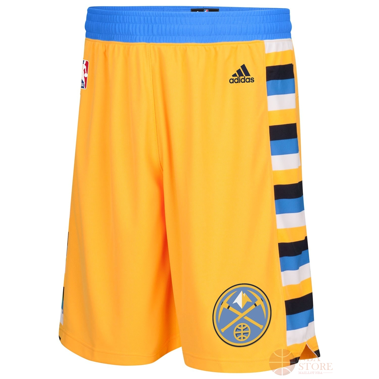 Classic Short Basket Denver Nuggets Jaune