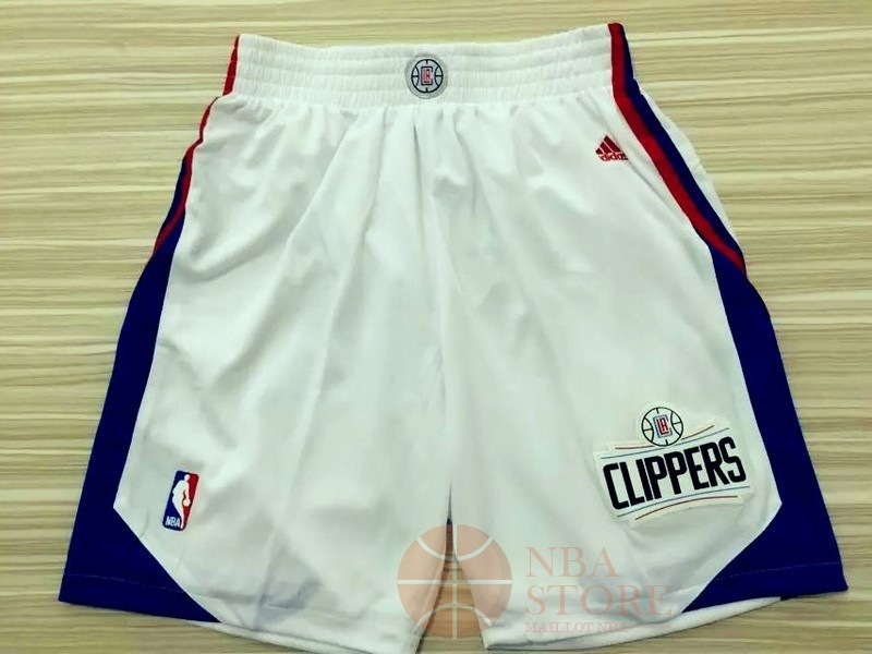 Classic Short Basket Los Angeles Clippers Blanc