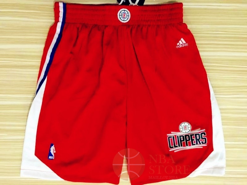 Classic Short Basket Los Angeles Clippers Rouge