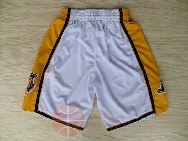 Classic Short Basket Los Angeles Lakers Blanc 2018