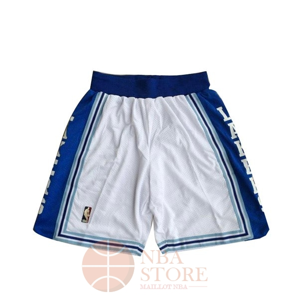 Classic Short Basket Los Angeles Lakers Blanc