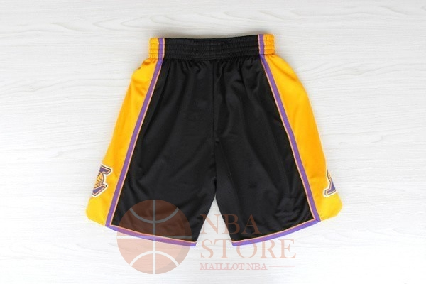 Classic Short Basket Los Angeles Lakers Noir