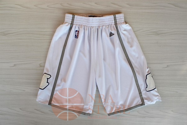 Classic Short Basket Los Angeles Lakers Retro Blanc