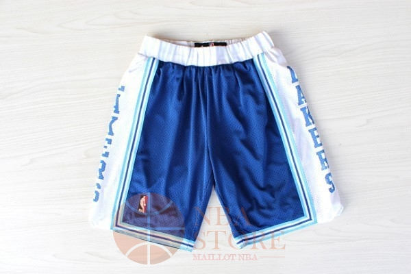 Classic Short Basket Los Angeles Lakers Retro Bleu