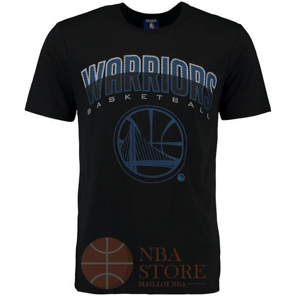 Classic T-Shirt Golden State Warriors Noir 003