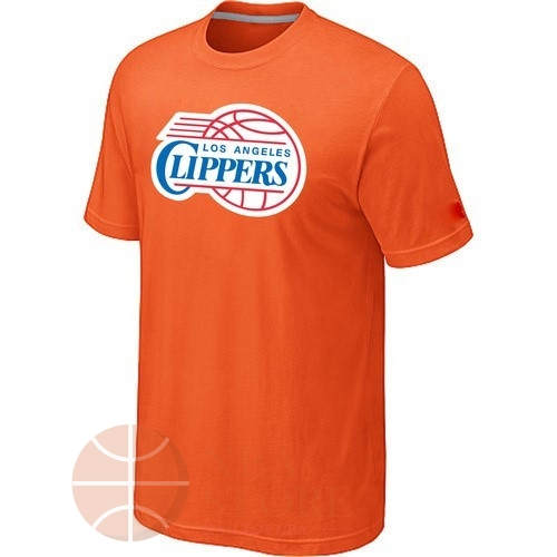 Classic T-Shirt Los Angeles Clippers Orange