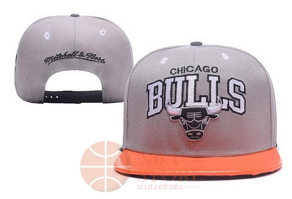 Classic Bonnet 2017 Chicago Bulls Gris NO.02