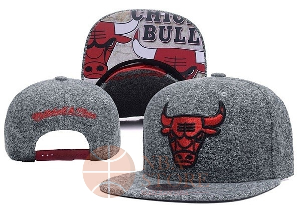 Classic Bonnet 2017 Chicago Bulls Gris NO.06