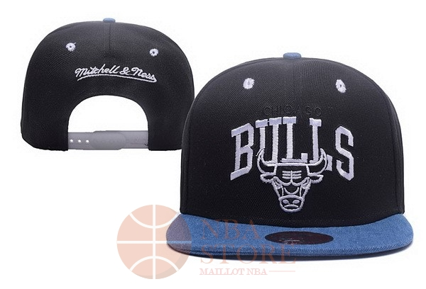 Classic Bonnet 2017 Chicago Bulls Noir NO.02