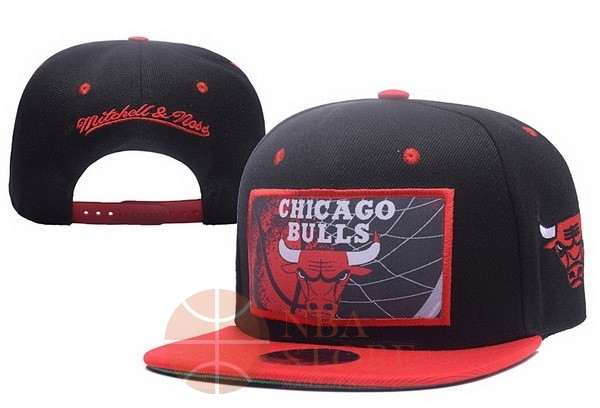 Classic Bonnet 2017 Chicago Bulls Rouge Noir NO.02