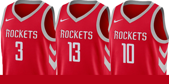 Classic Maillot NBA Nike Houston Rockets