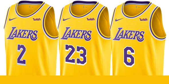 Classic Maillot NBA Nike Los Angeles Lakers